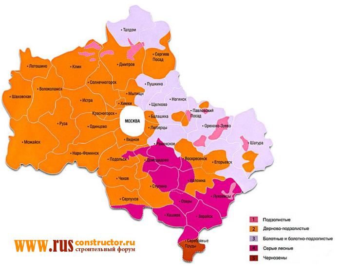 Буровые сваи для фундамента цена Подольский район