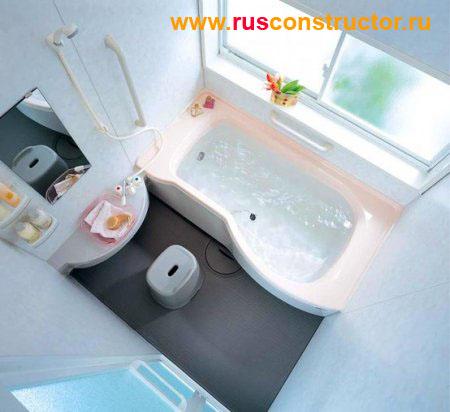 Дизайн маленькой ванны - 2