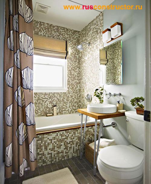Дизайн маленькой ванны - 3