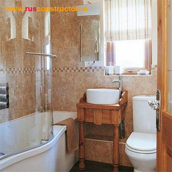 Дизайн маленькой ванны - 5
